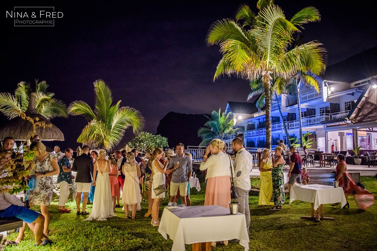 réception mariage Boucan Canot hôtel Réunion J&JC