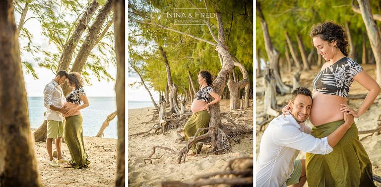 photos de grossesse plage hermitage A&O2019