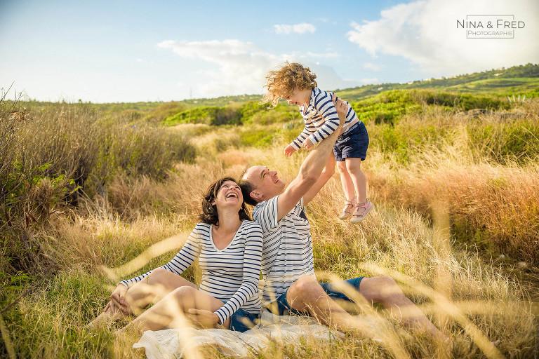 séance photo famille Réunion par Nina et Fred I&S&C