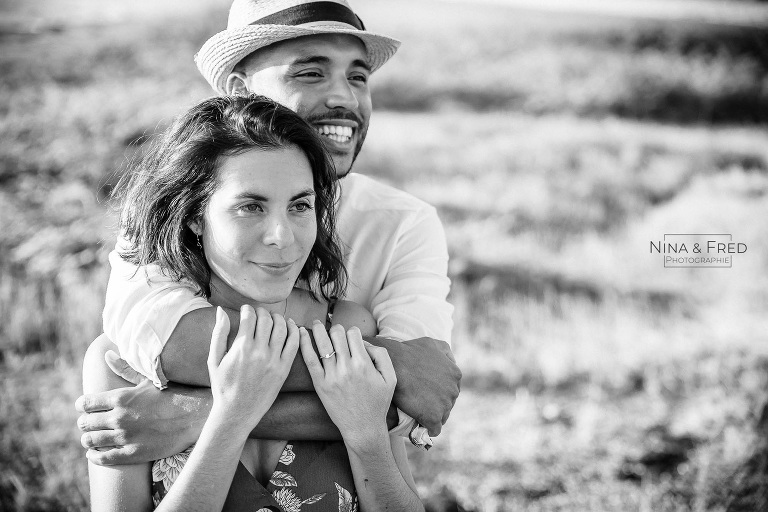 photo couple en noir et blanc E&T2019