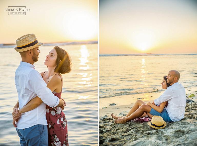 photos en couple plage 974 E&T2019