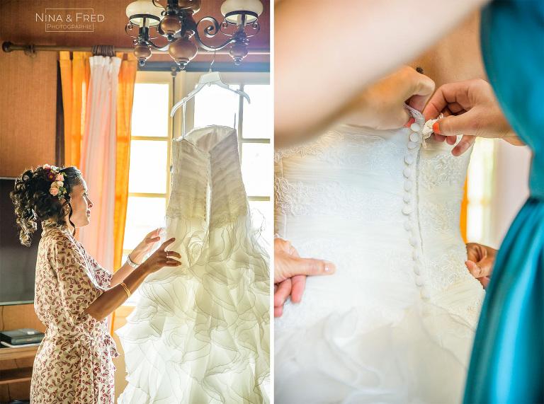 robe de mariée Réunion S&D19