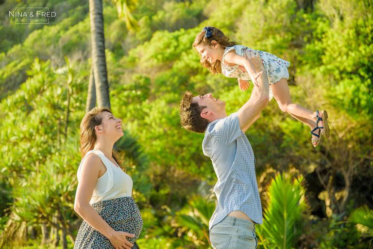 séance photo famille grossesse Réunion O&D&M