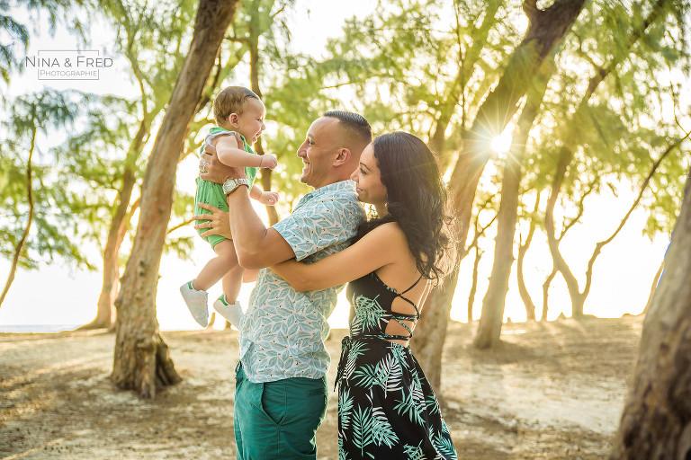 séance photo famille la Réunion Y&G&A