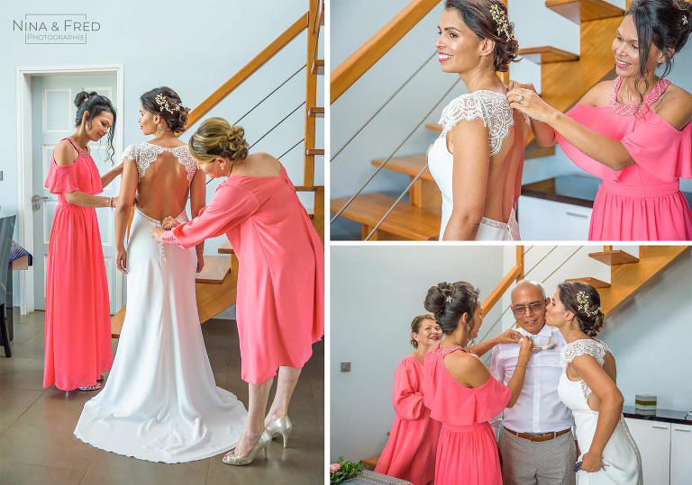 habillage de la mariée N&I19