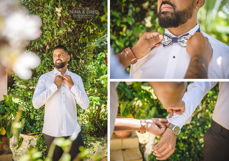 habillage du marié N&I19