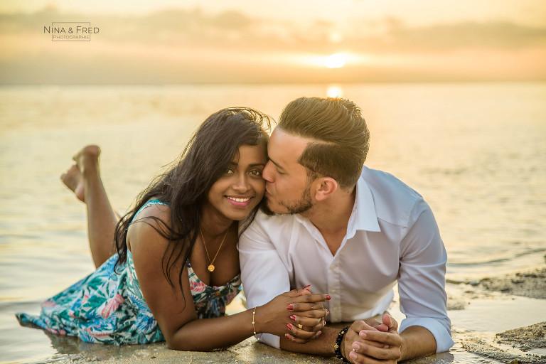 photographie couple île de la Réunion