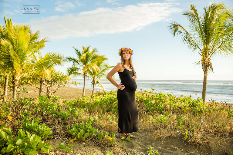 photogrpahie grossesse tropicale